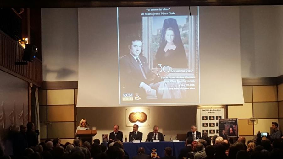 """Actual Actual Presentación de libro """"Antonio Montiel, el pintor del alma"""" en el que se anuncia que el artista realizará el primer retrato oficial de Felipe VI"""