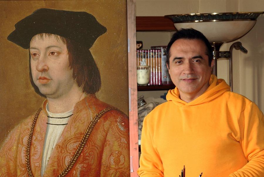"""Actual Actual El pintor Antonio Montiel dará vida al rey Fernando """"El Católico"""" en la Cabalgata Histórica de Málaga"""