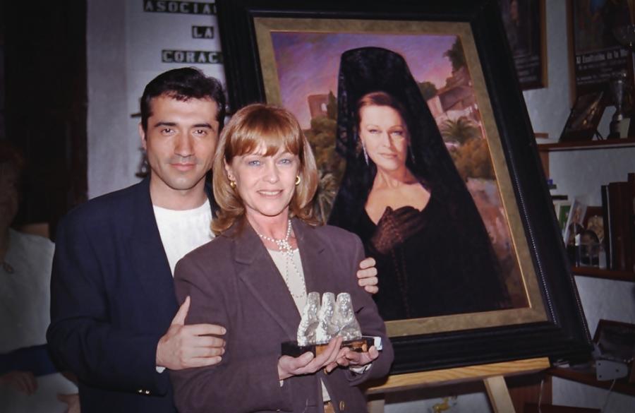 Actual Actual Marisol, musa eterna del pintor Antonio Montiel, Goya de Honor 2020