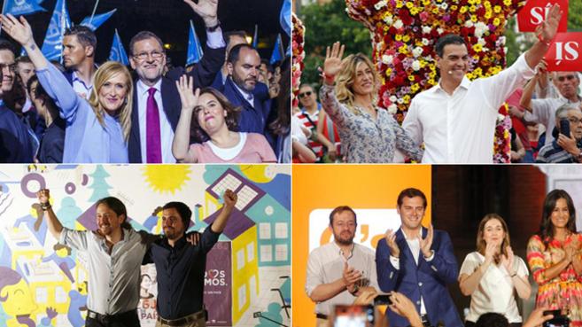 Malaga Malaga Arranca la campaña de la 'segunda vuelta' electoral
