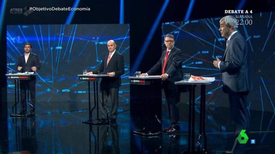 Malaga Malaga En directo: El debate económico de los cuatro grandes partidos.