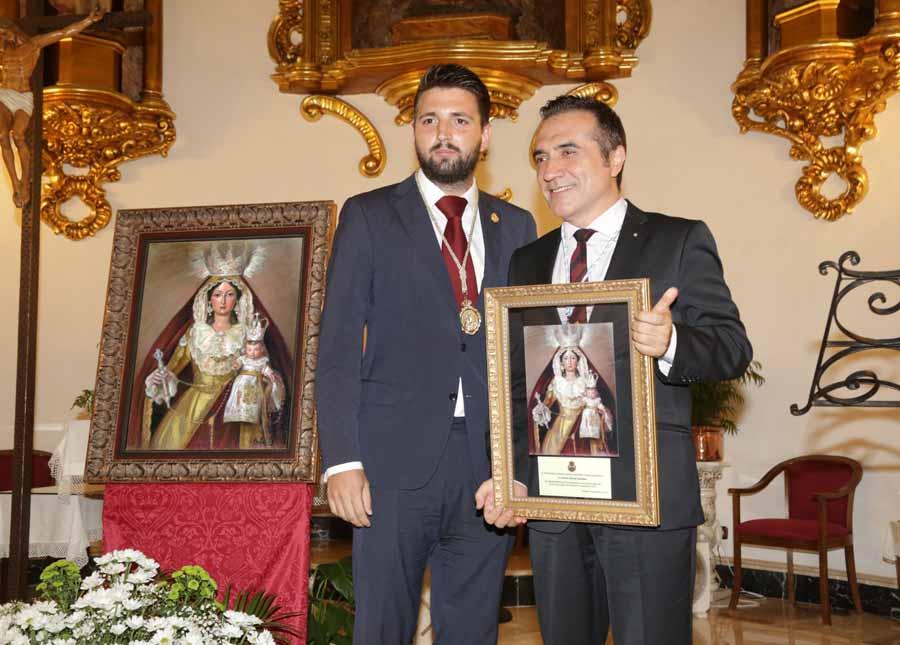 Actual Actual Antonio Montiel presentó el cartel de la Patrona del Palo